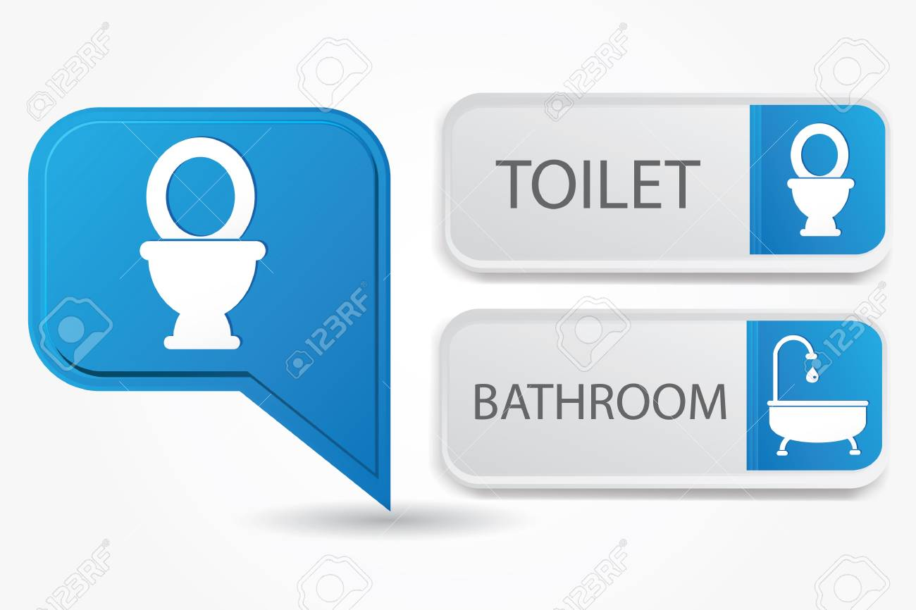 Toilet and bathroom Stock Vector - 19771229