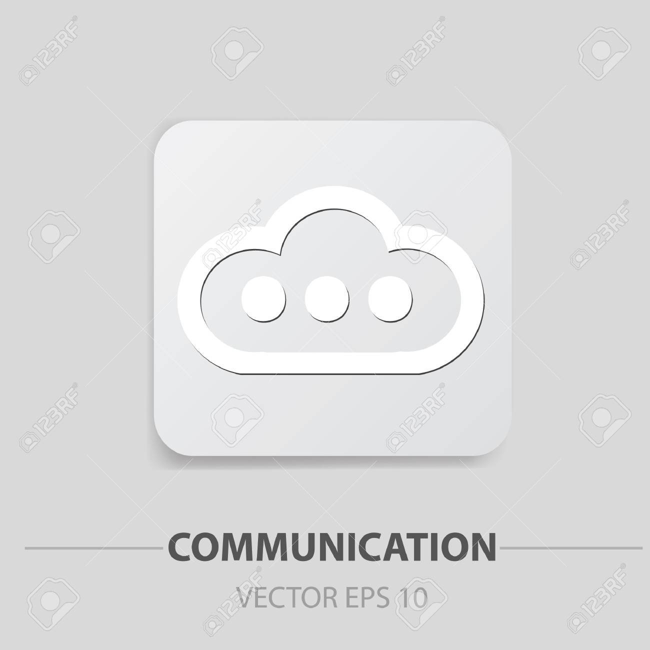 Cloud storage icons Stock Vector - 19771079