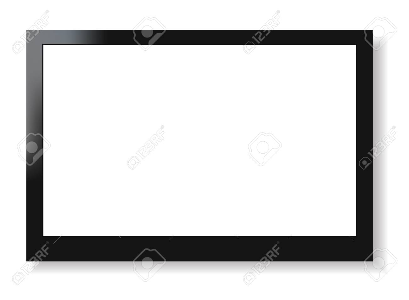 LCD screen television Stock Vector - 19973083