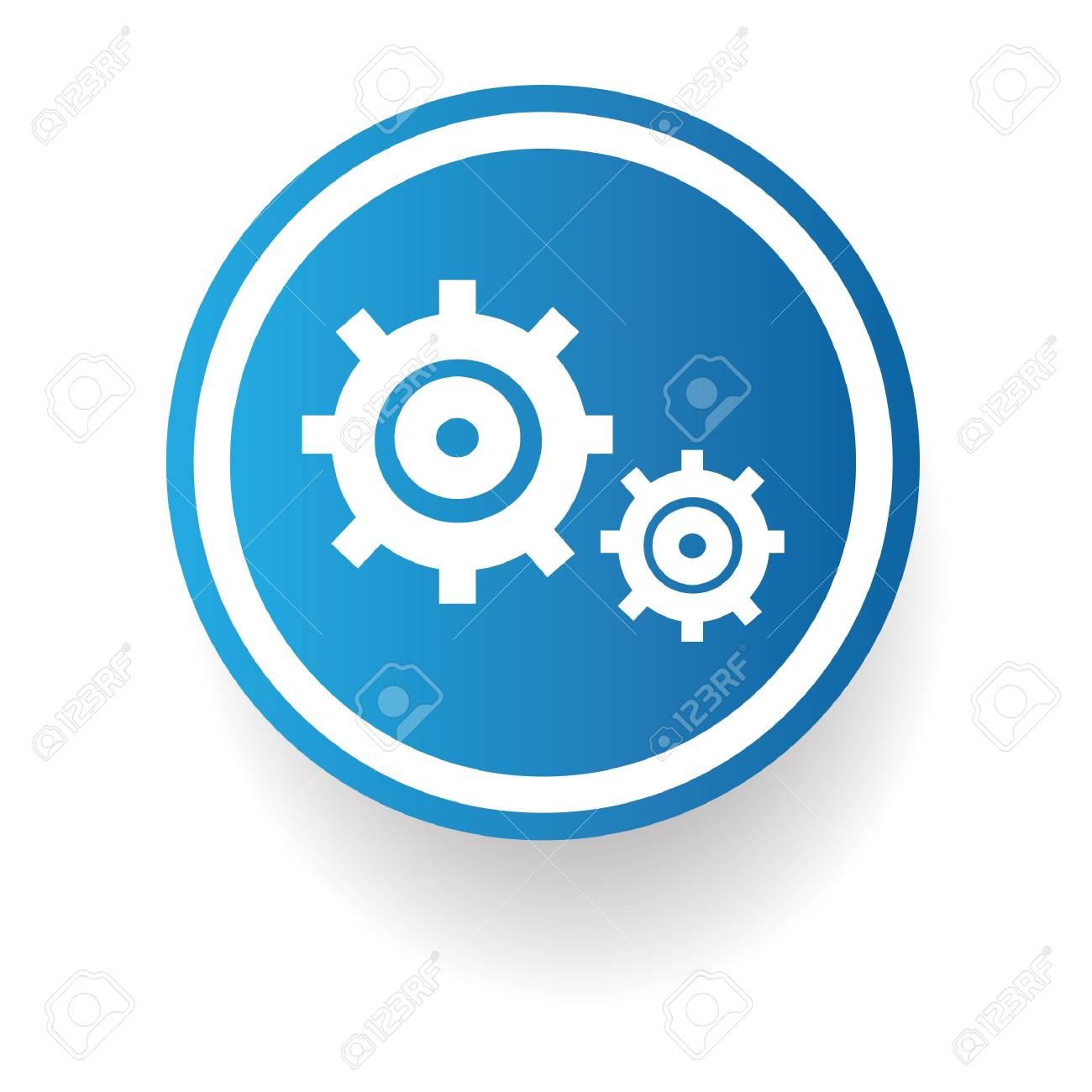 Gear sign Stock Vector - 20168089