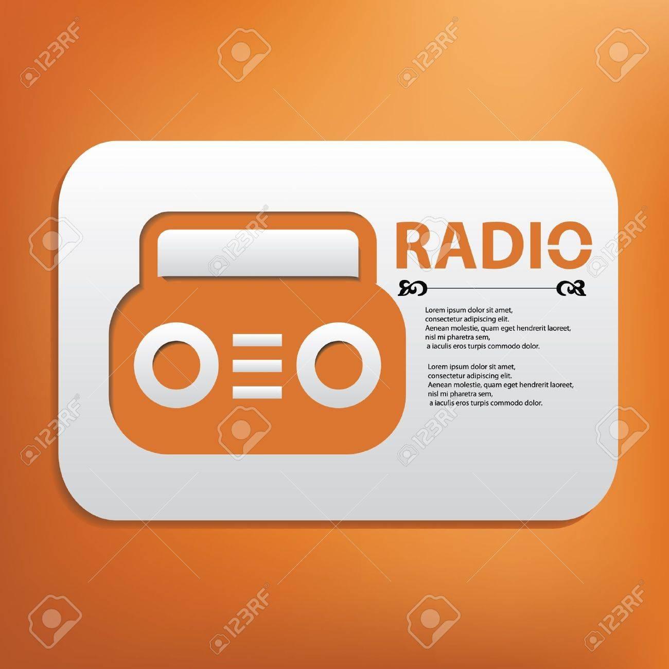 Radio symbol Stock Vector - 20565097
