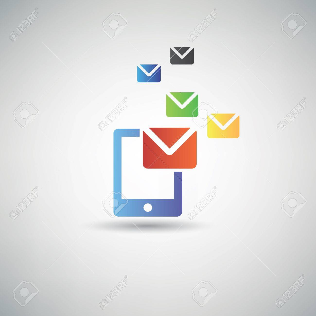 Email symbol Stock Vector - 20565087
