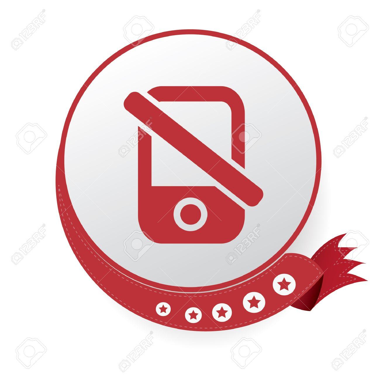No Cell Phone Symbol Royalty Free Cliparts Vectors And Stock