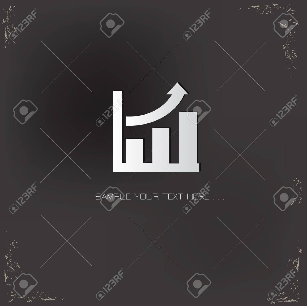 Graph symbol Stock Vector - 20616514