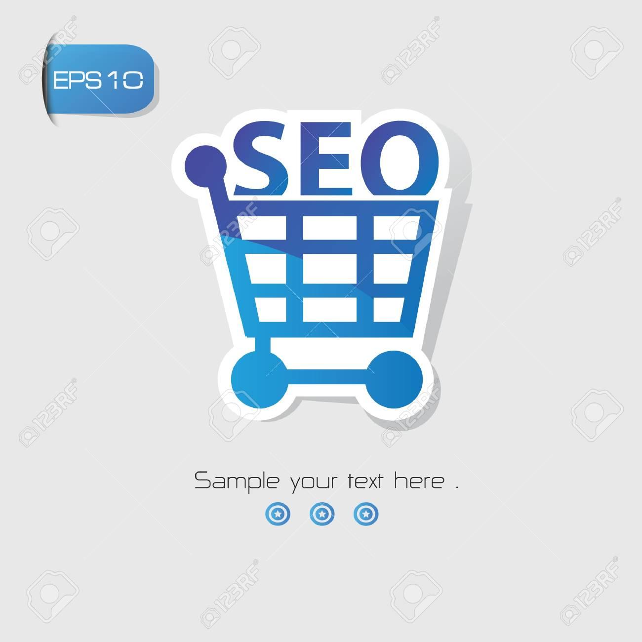 SEO Marketing symbol,vector Stock Vector - 20699279
