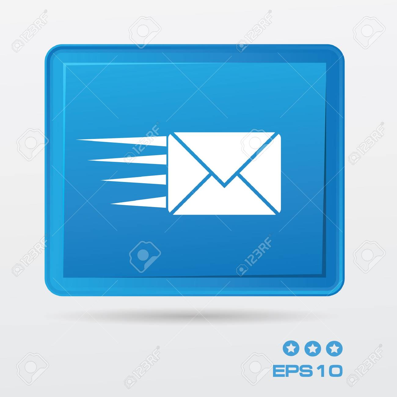 Email symbol Stock Vector - 20810779