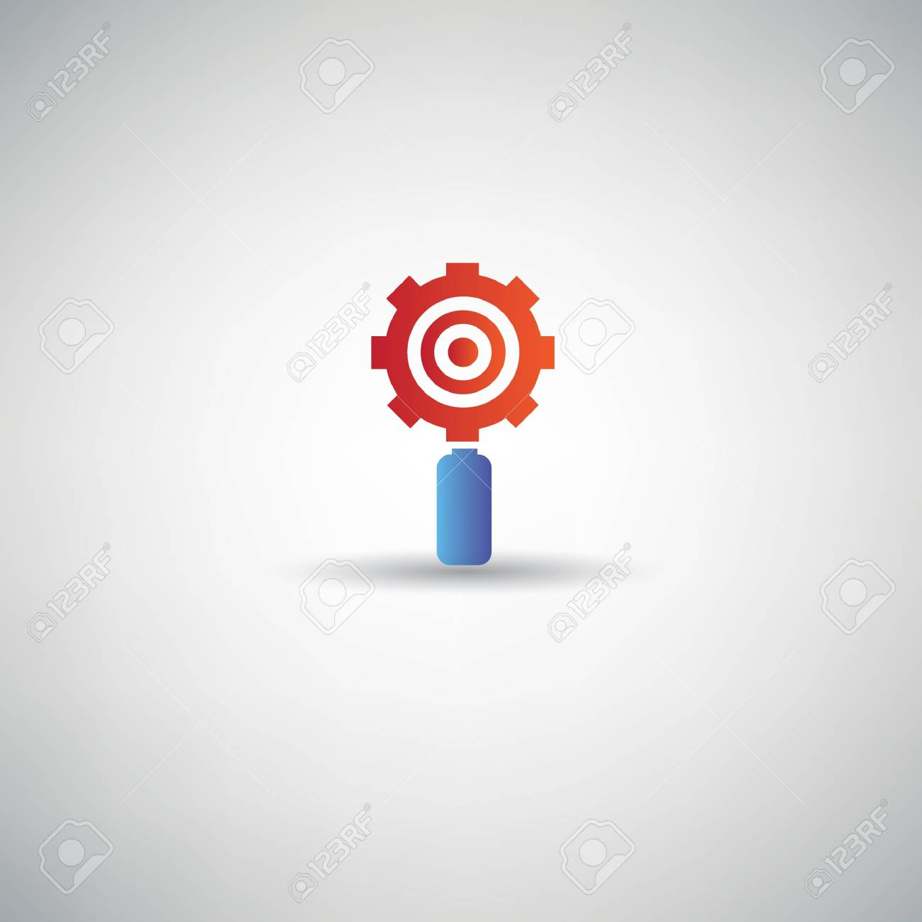 Gear symbol,vector Stock Vector - 21283527
