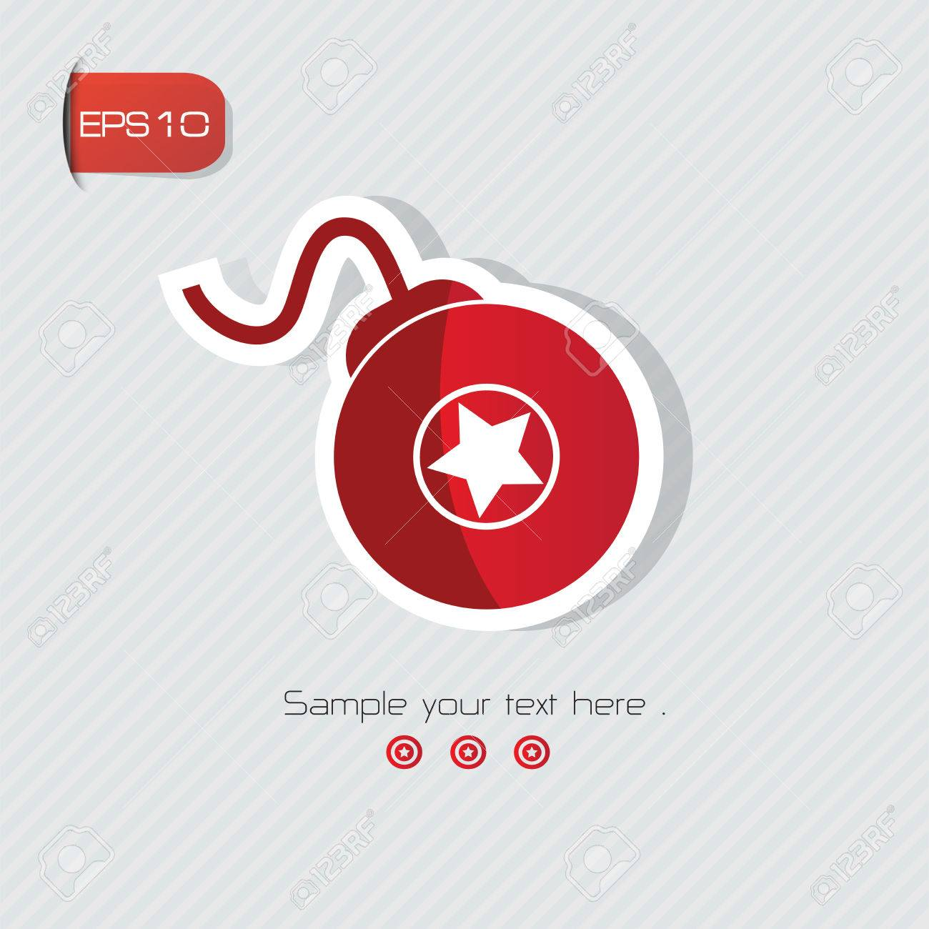 Bomb Symbolvector Royalty Free Cliparts Vectors And Stock