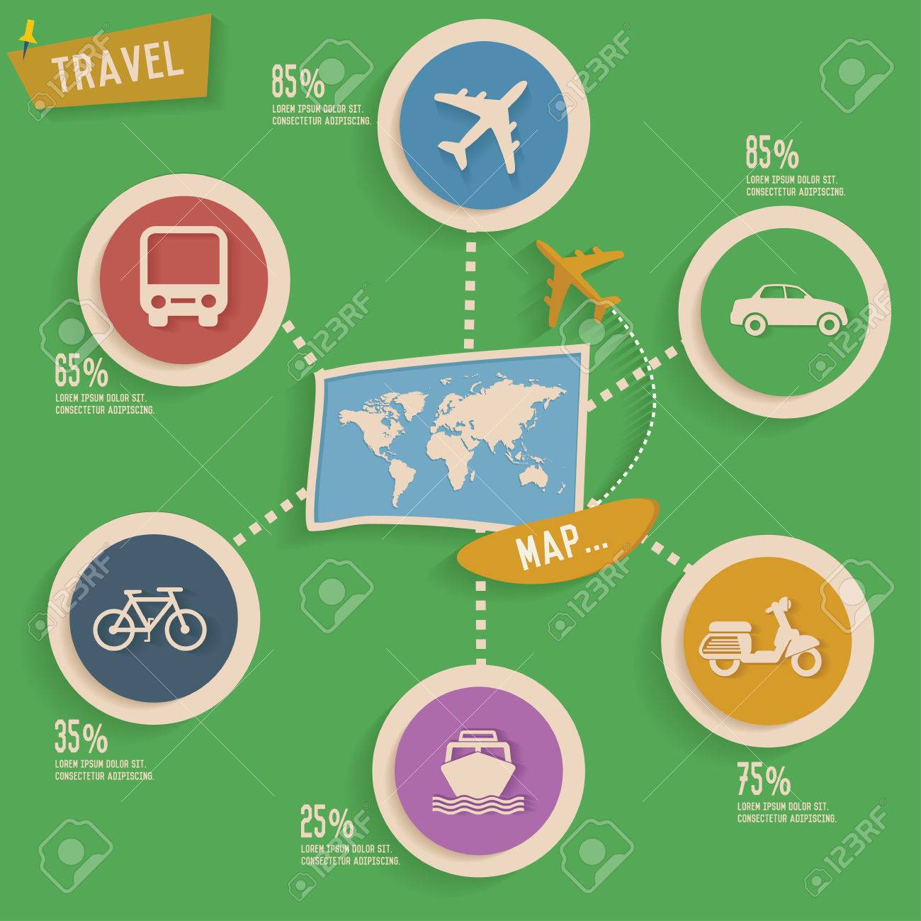 Travel and map info graphic designclean vector royalty free travel and map info graphic designclean vector stock vector 30829930 biocorpaavc Images
