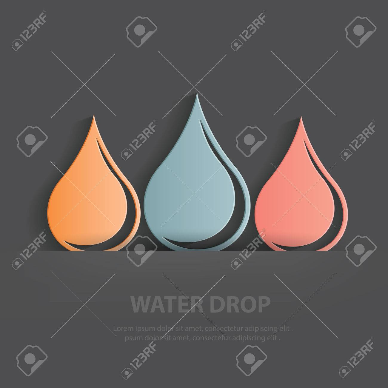 Water drop symbolblank for your text royalty free cliparts water drop symbolblank for your text stock vector 33513841 biocorpaavc Image collections