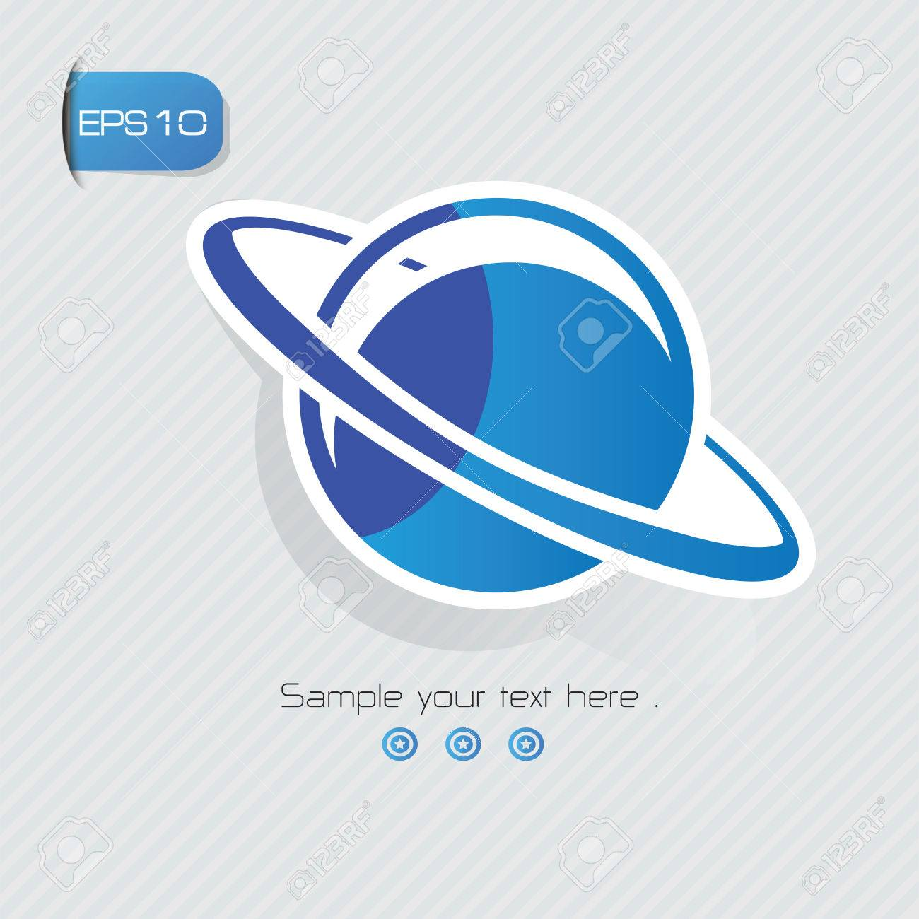 Saturn symbolsticker designblue versionclean vector royalty free saturn symbolsticker designblue versionclean vector stock vector 34962497 buycottarizona Image collections