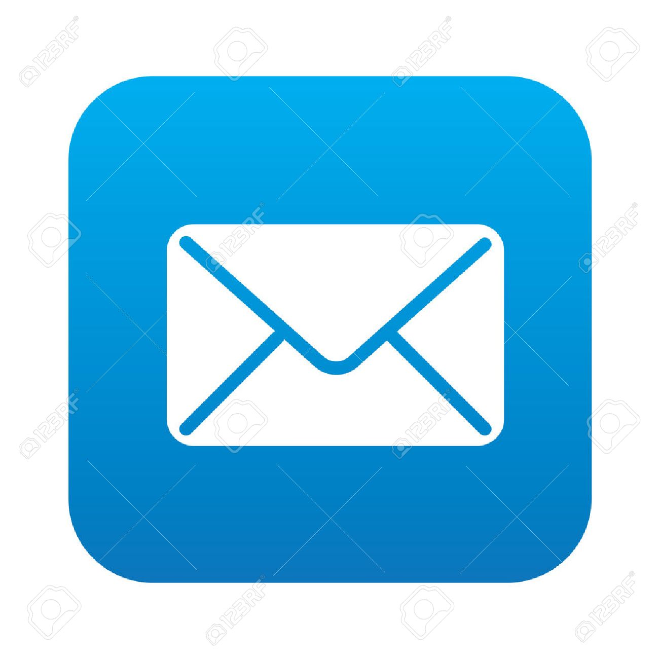 email icon on blue background clean vector royalty free cliparts rh 123rf com email vector icon free email vector icon ai