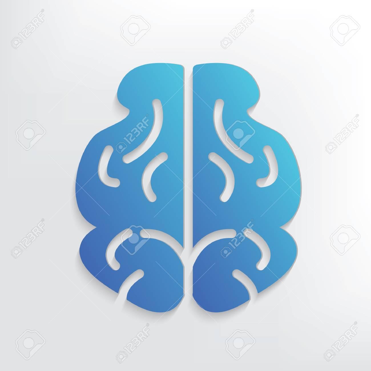 Brain symbol designclean vector royalty free cliparts vectors and brain symbol designclean vector stock vector 42520424 biocorpaavc Images