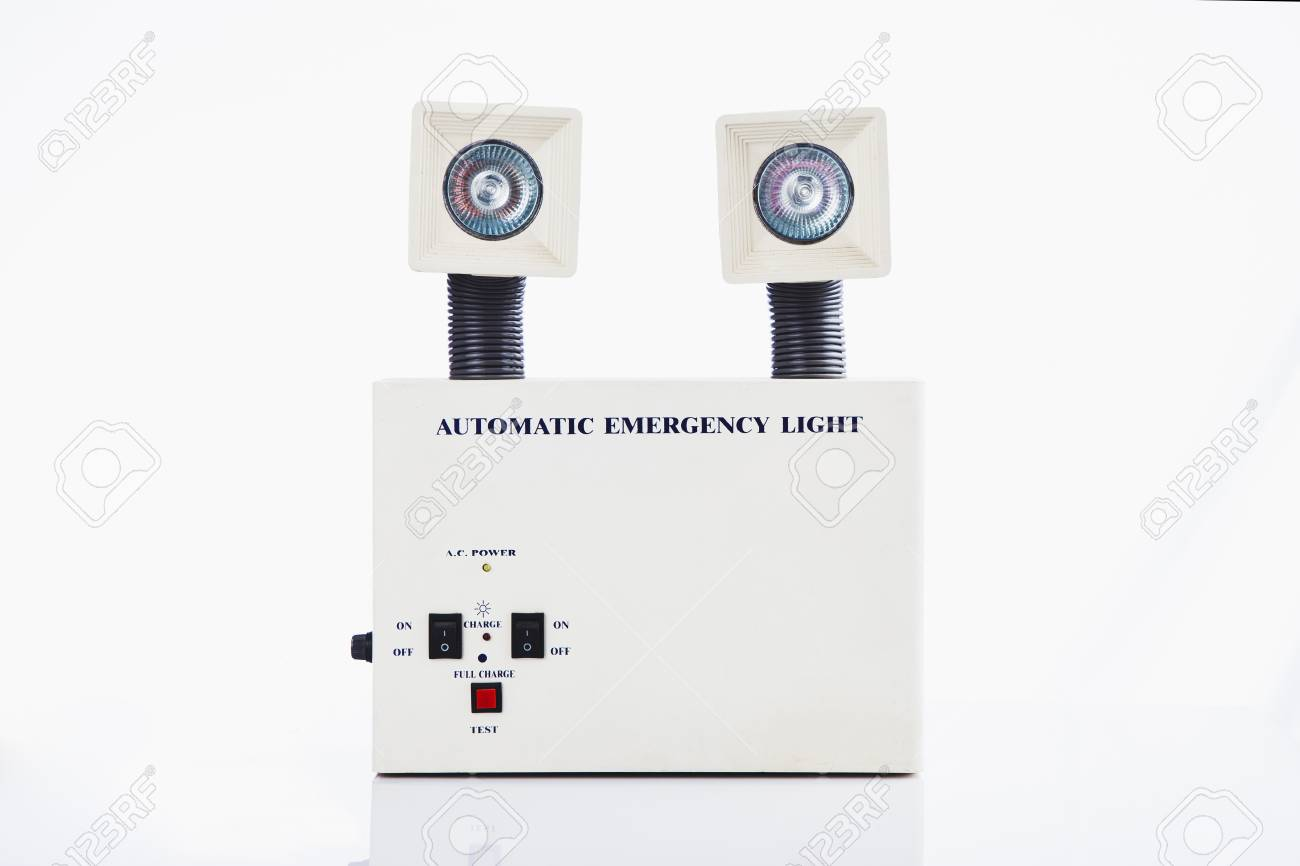 Automatic Emergency Light Stock Photo Picture And Royalty Free Low Cost Ligh 31585119
