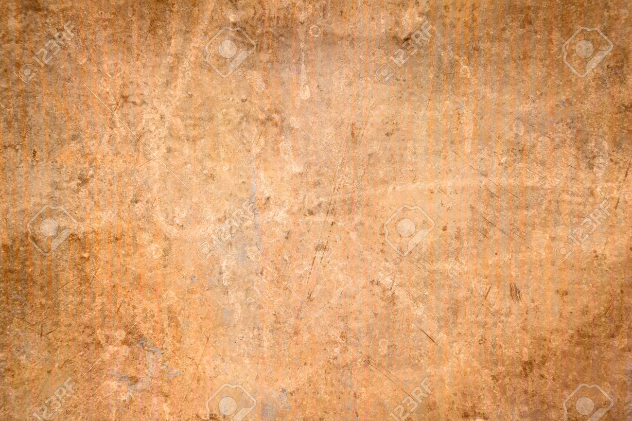 Grunge Rustic Copper Texture Stock Photo