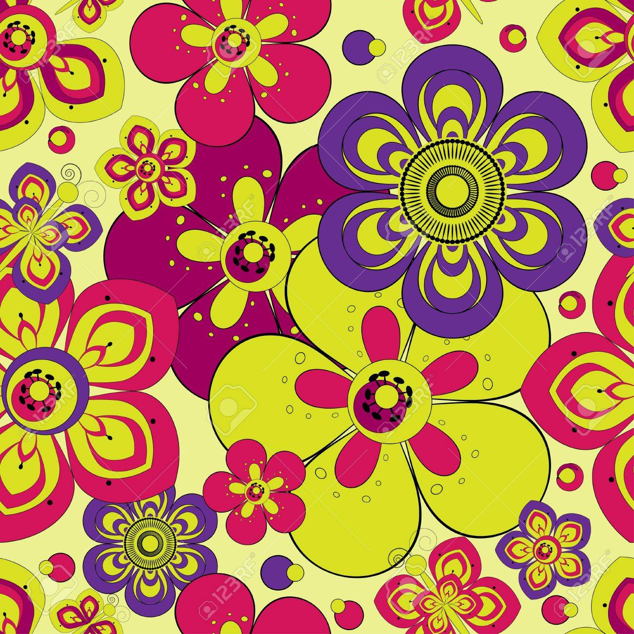 Abstract floral background Stock Vector - 11664093