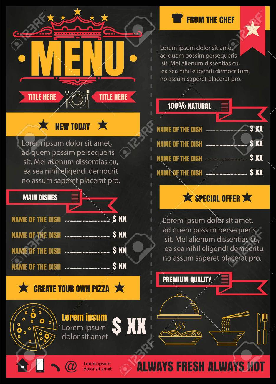 menu format oker whyanything co