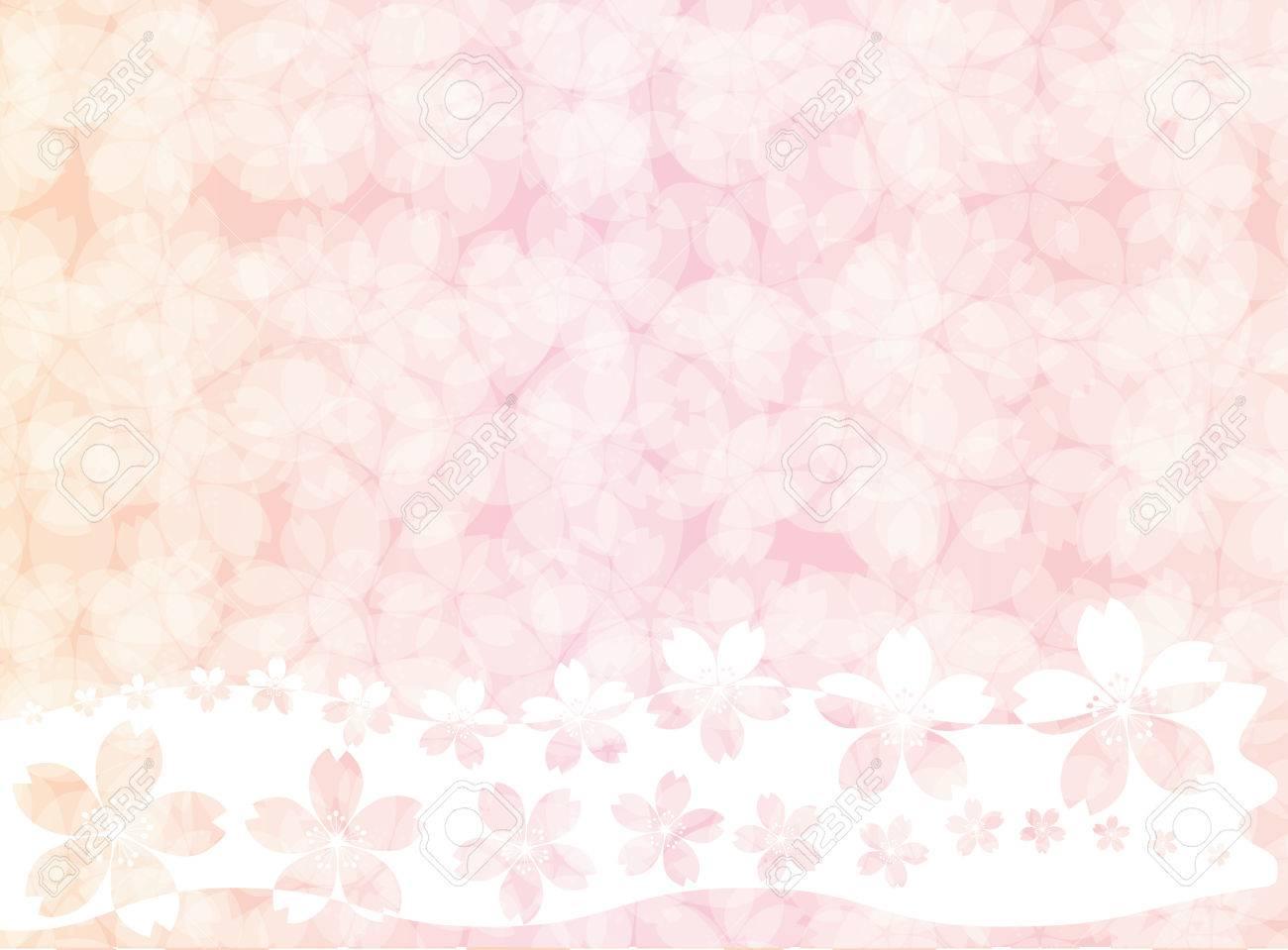 Pink Sakura Blossom Wallpaper Or Background