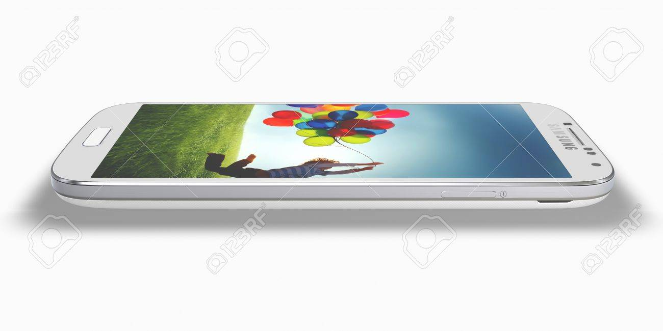 New Samsung Galaxy S4  Stock Photo - 19107826