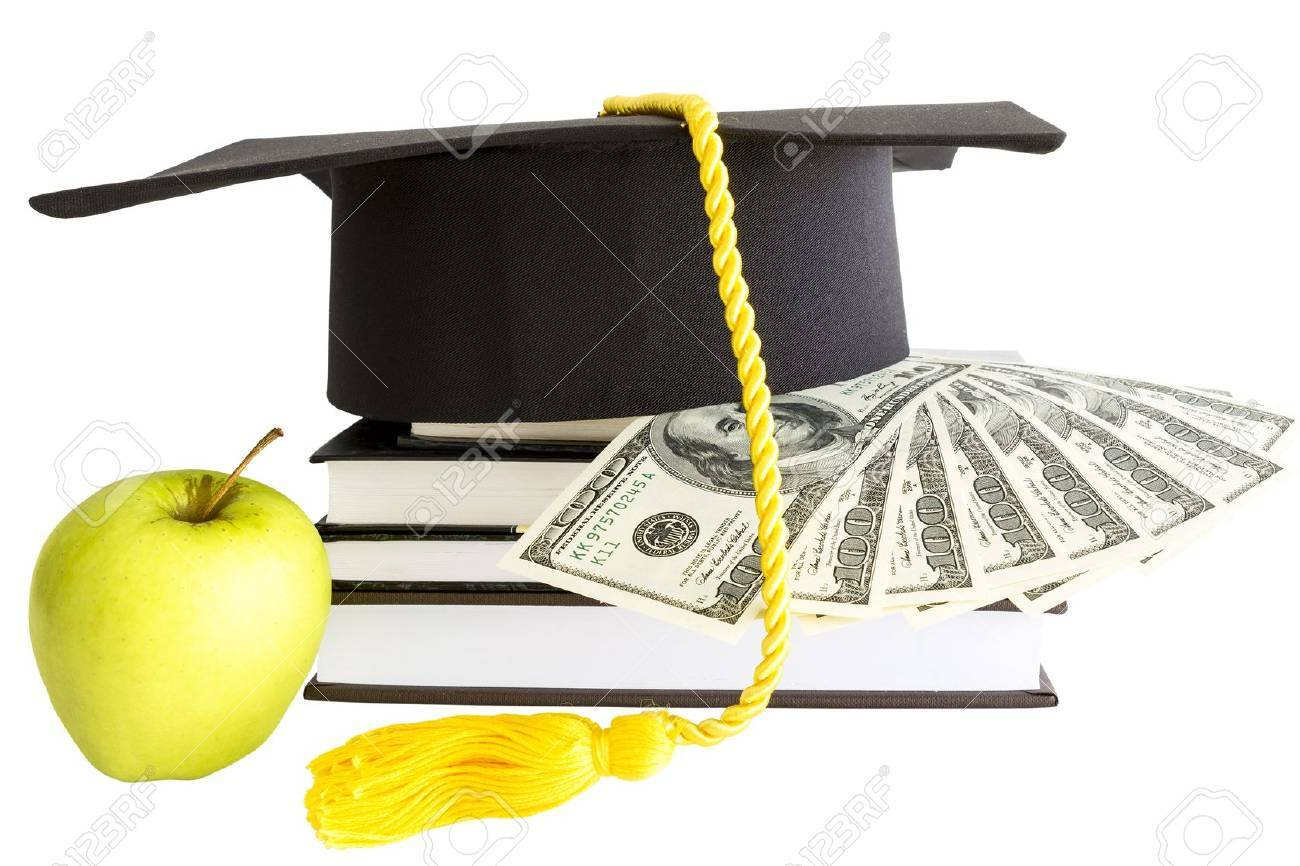 Money and books for education - 19405692