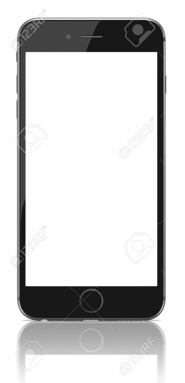 Apple Space Gray IPhone 6 Plus With Blank ScreenThe New Higher