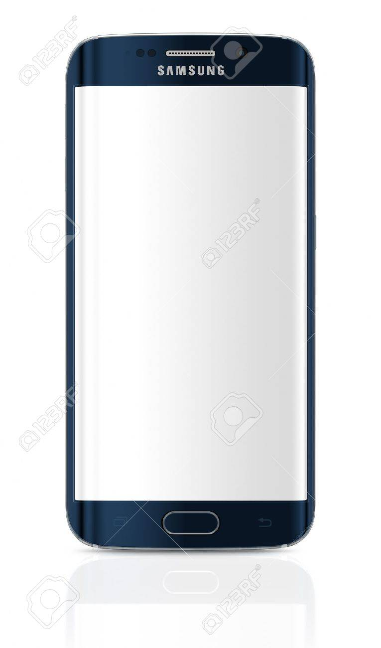 Samsung Galaxy S6 Edge is the first device with dual-curved glass display. The Samsung Galaxy S6 and Galaxy S6 Edge was launched at a press event in Barcelona on March 1 2015. Galaxy S6 has Quad HD Super AMOLED, 2560x1440, 577 PPI, Lightning-fast 64 bit a - 38184113