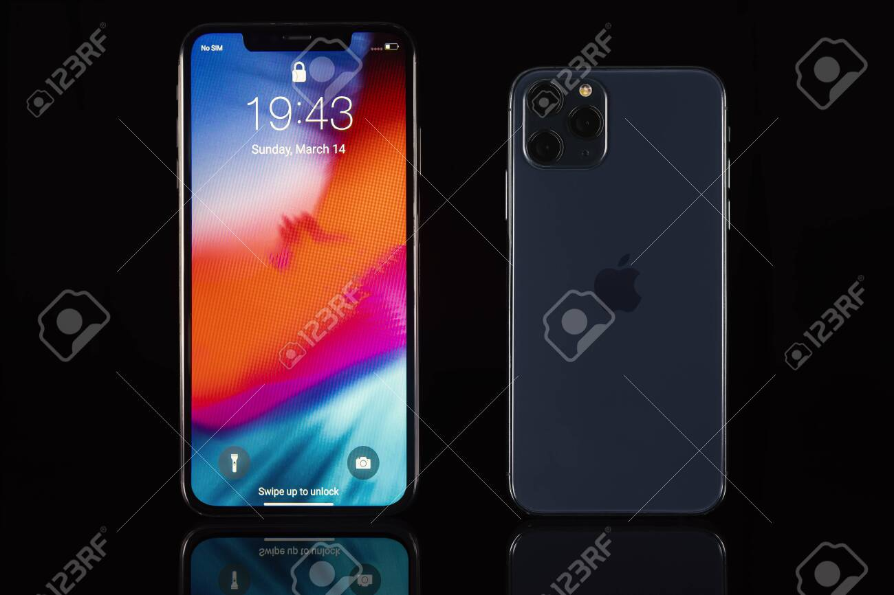 Galati Romania March 23 2020 Apple Launch The New Smartphone Stock Photo Picture And Royalty Free Image Image 143987299
