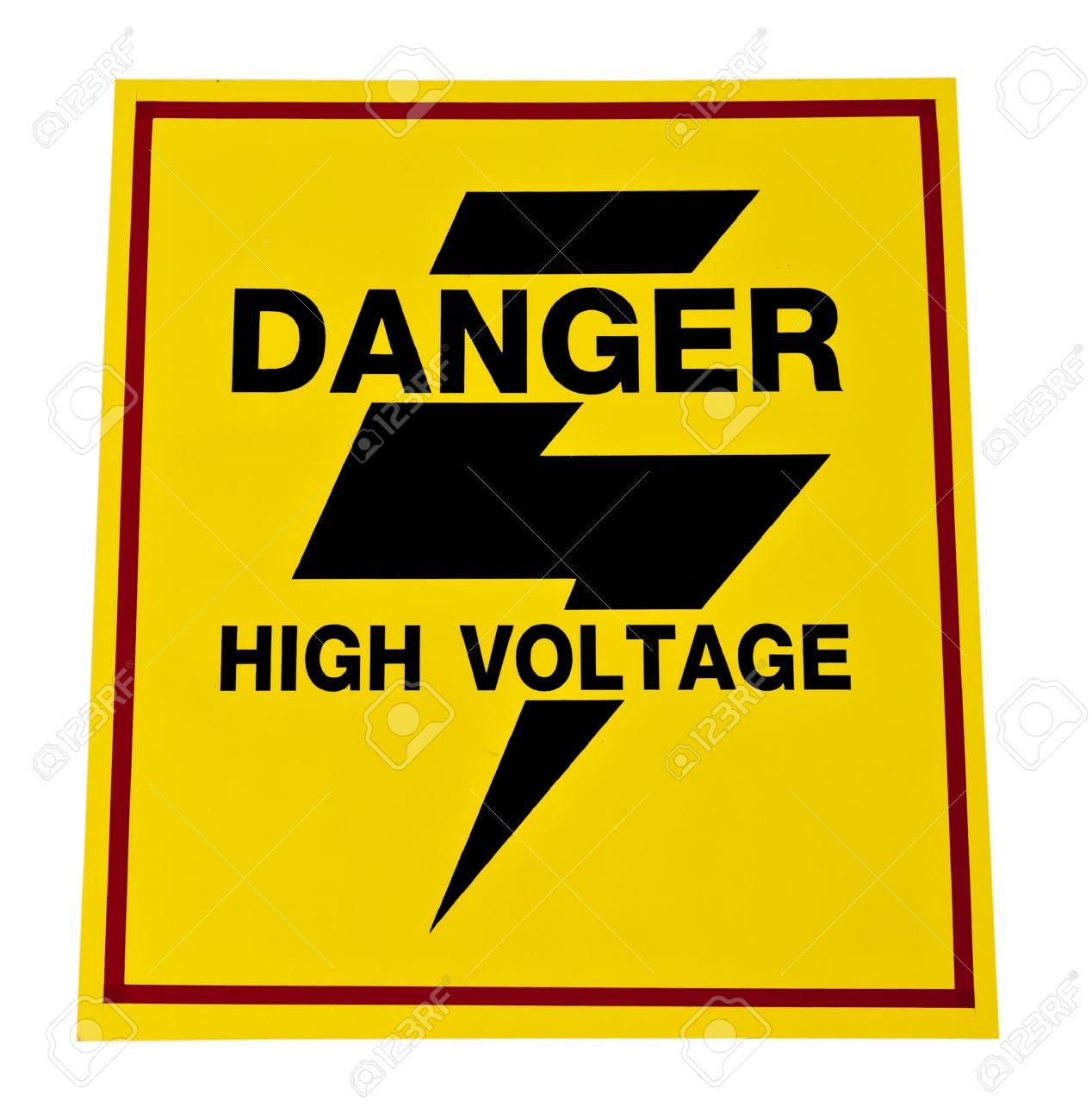 High voltage symbol buycottarizona