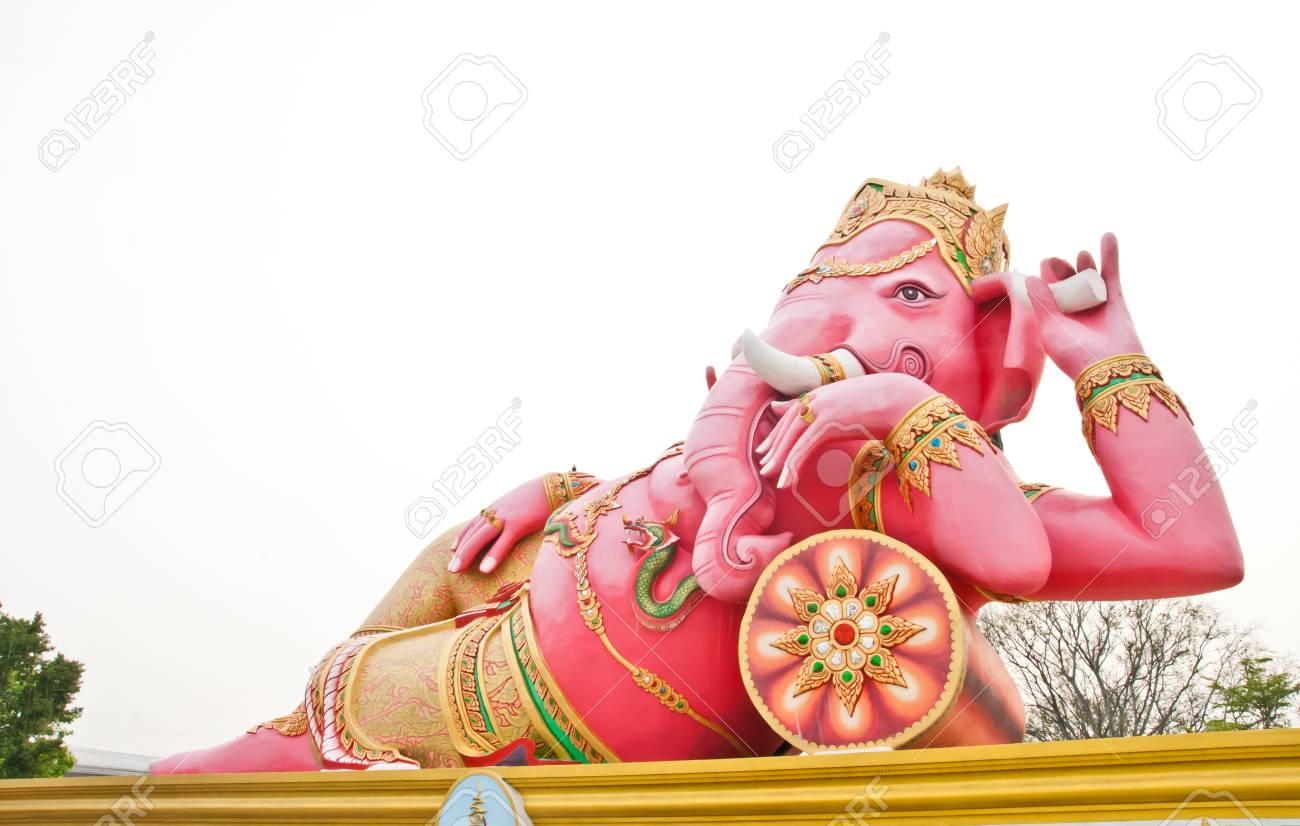 Ganesha statue in Thailand Stock Photo - 13628324