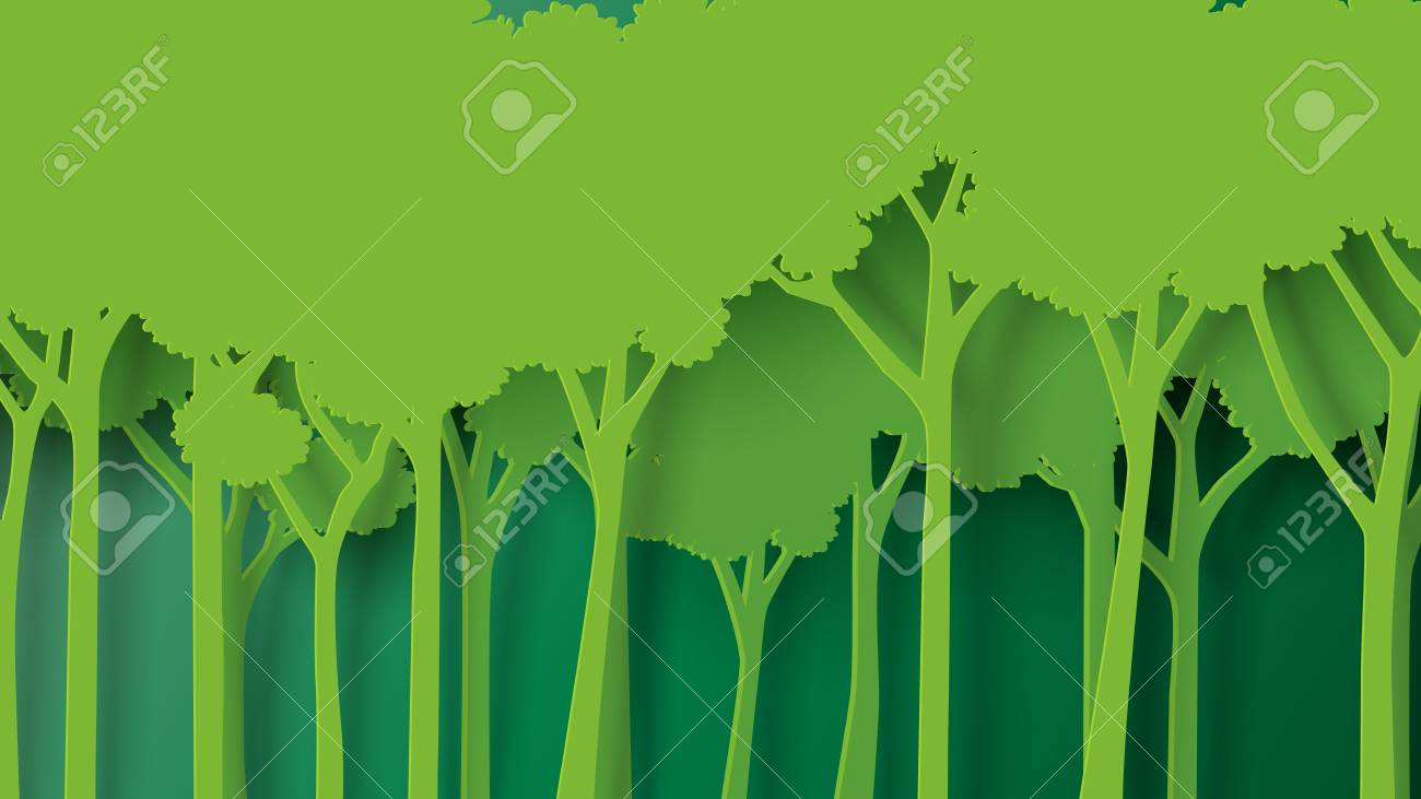 eco green nature forest background template forest plantation