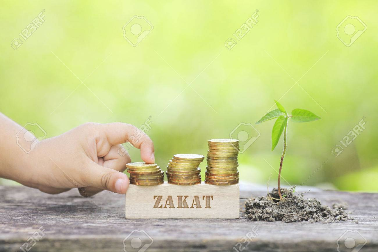 zakat word golden coin stacked with wooden bar stock photo picture and royalty free image image 73715601 zakat word golden coin stacked with wooden bar
