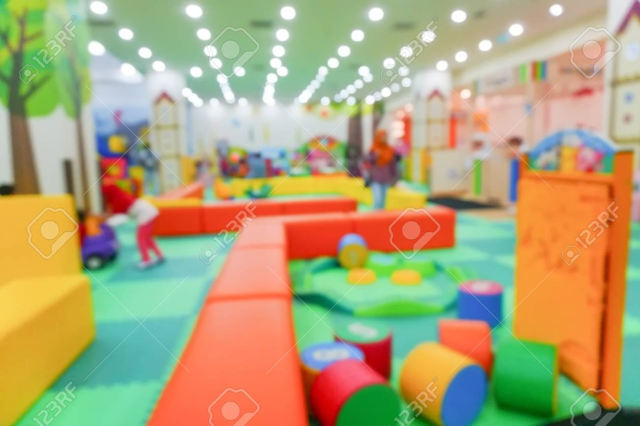 blur image of indoor playground for kids stock photo, picture andblur image of indoor playground for kids stock photo 83004217