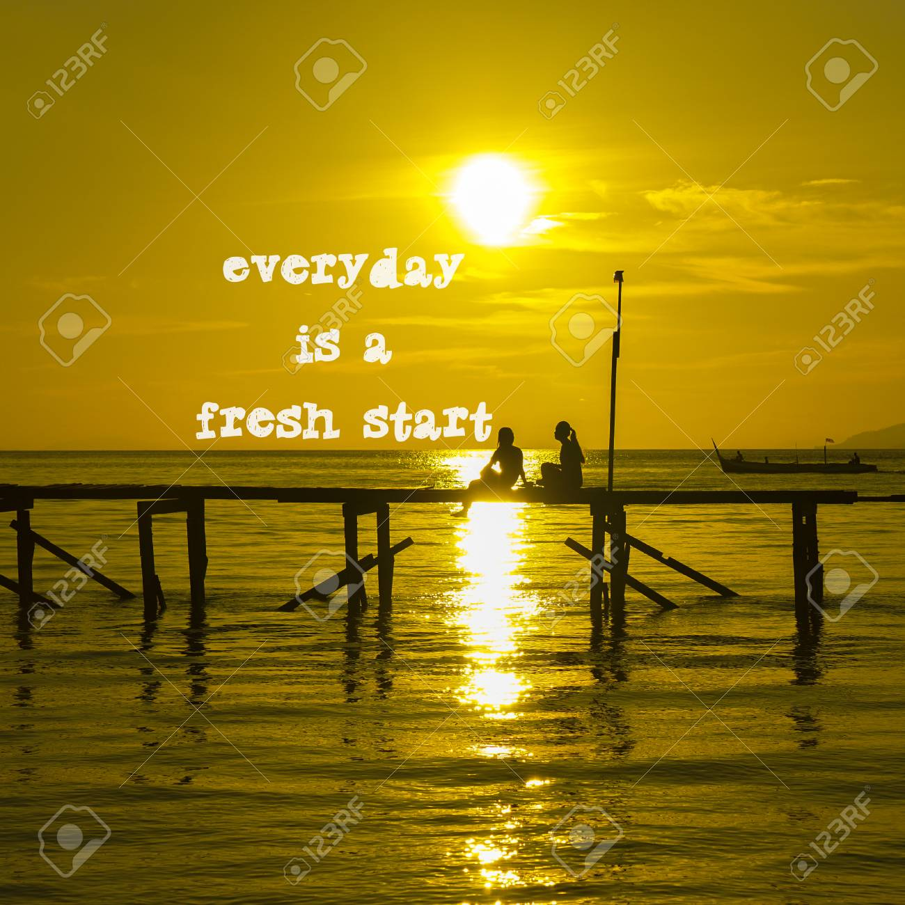 Life Inspirational Quotes Everyday Is A Fresh Start On Nature