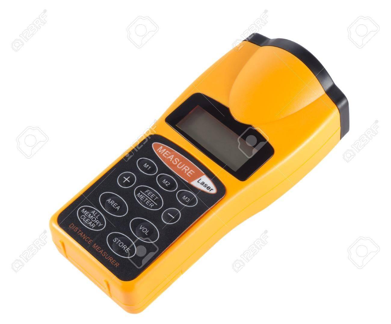 Entfernungsmesser Für Fotografie : Laser entfernungsmesser auf einem weißen hintergrund lizenzfreie
