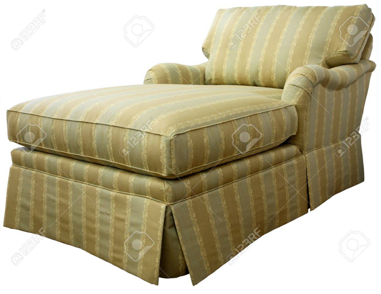Excellent Traditional Skirted Style Chaise Lounge Overstuffed Sofa Alphanode Cool Chair Designs And Ideas Alphanodeonline