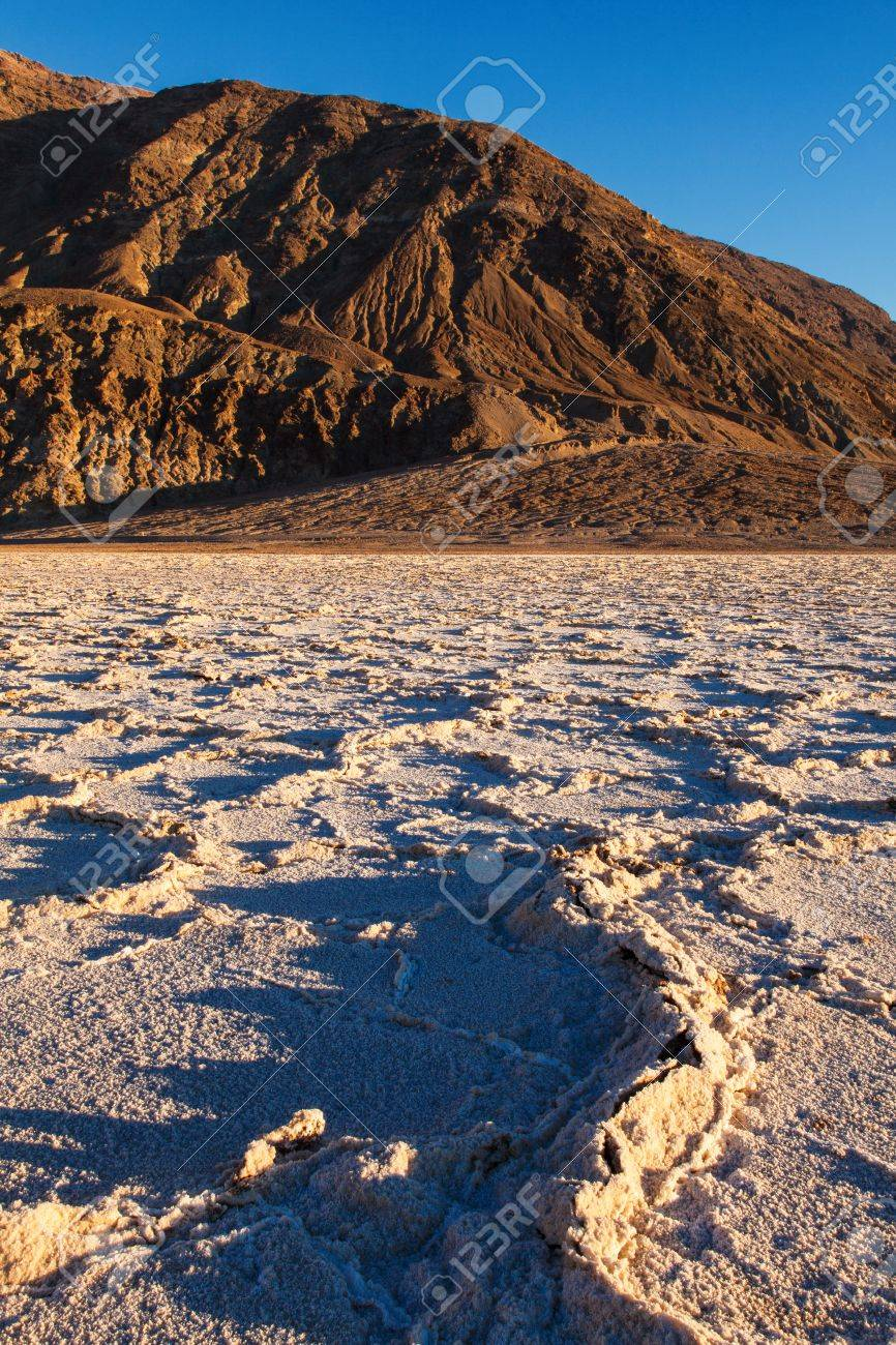 Badwater Basin Death Valley National Park Califorina Stock Photo - 17591751