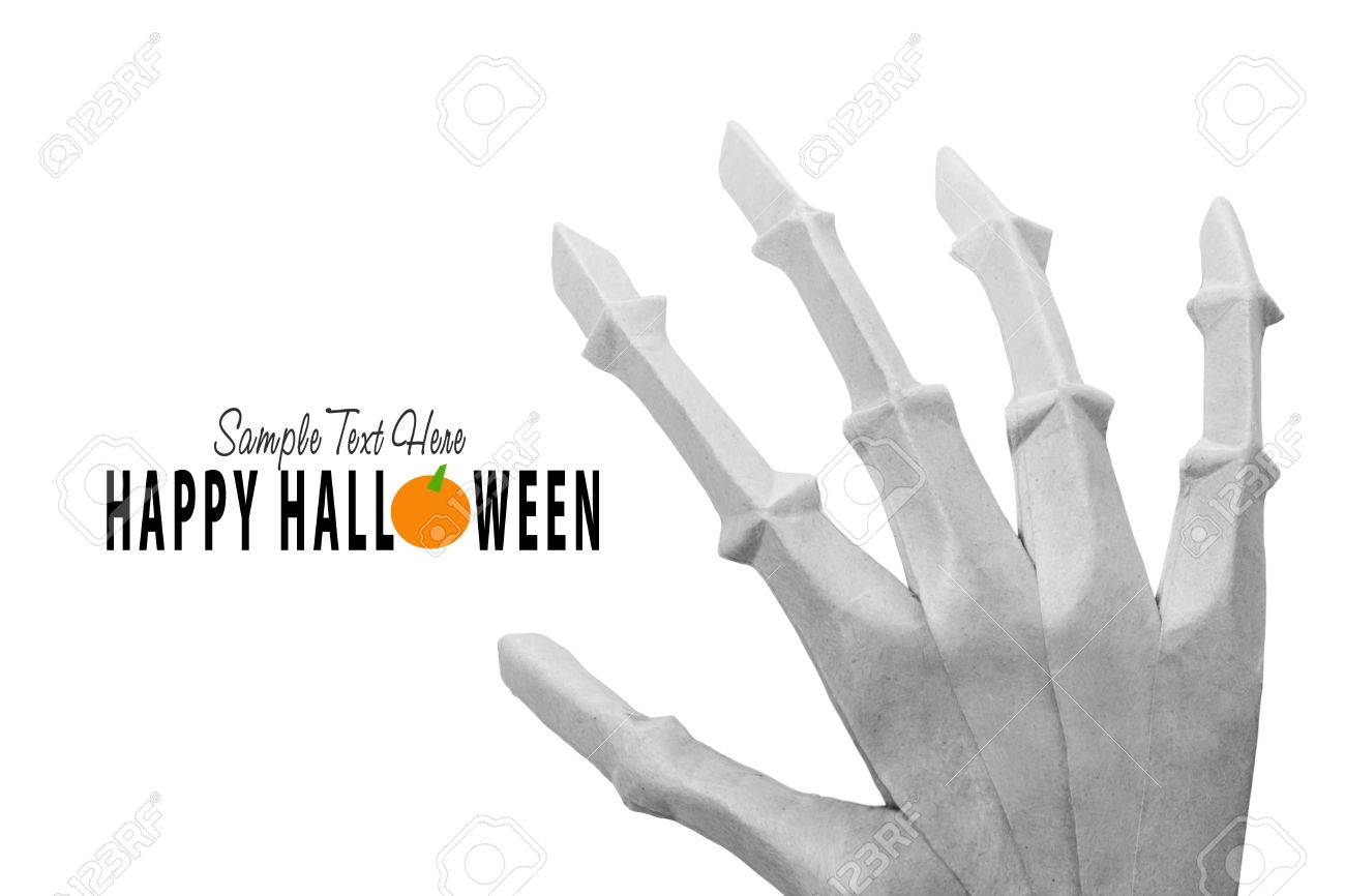 Scaphoid Stock Photos Royalty Free Images And The Root Of Middle Finger On Index Bone See Diagram Origami Skeleton Halloween Hand White Background
