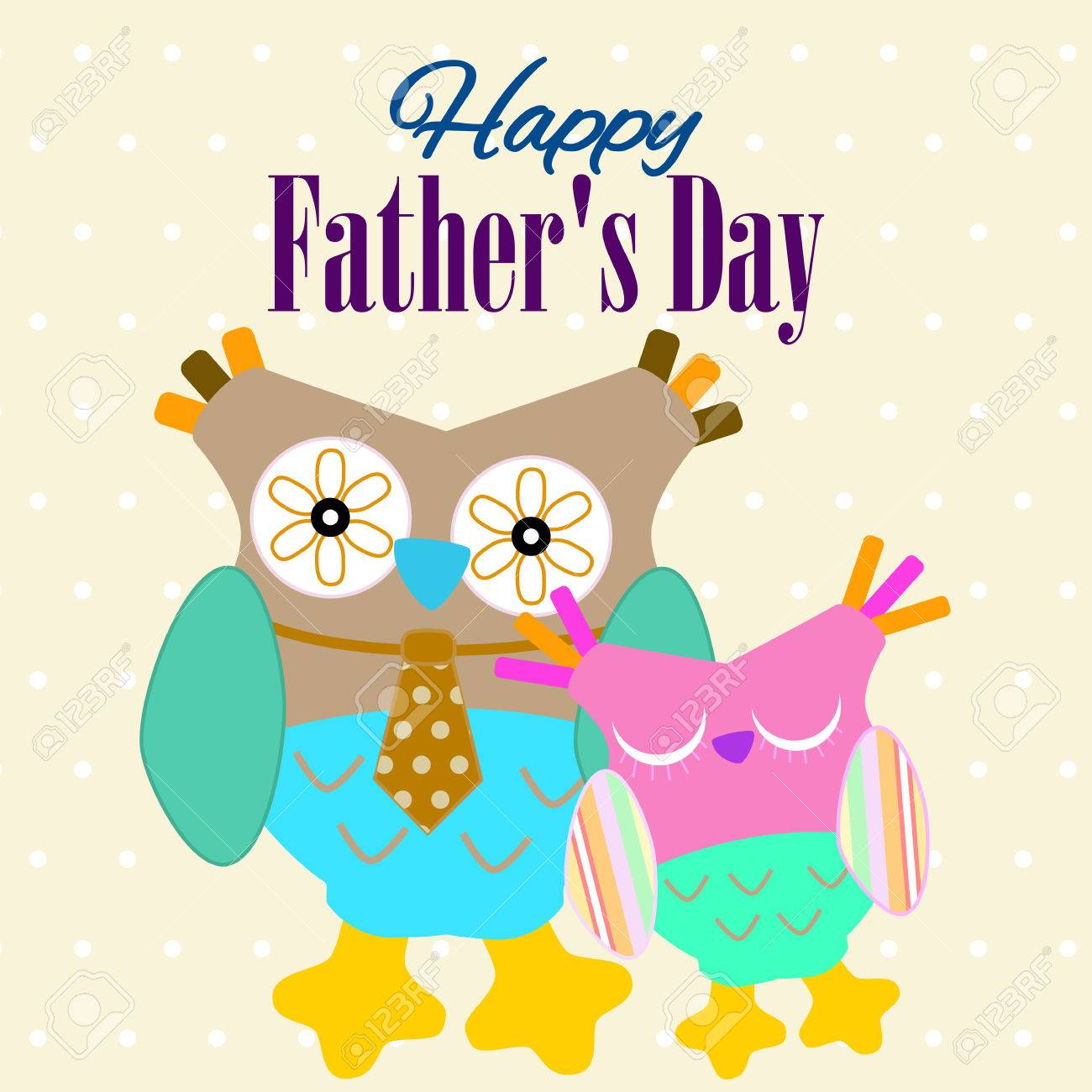 Fathers Day Card Happy Fathers Day Banner Fathers Day Greeting