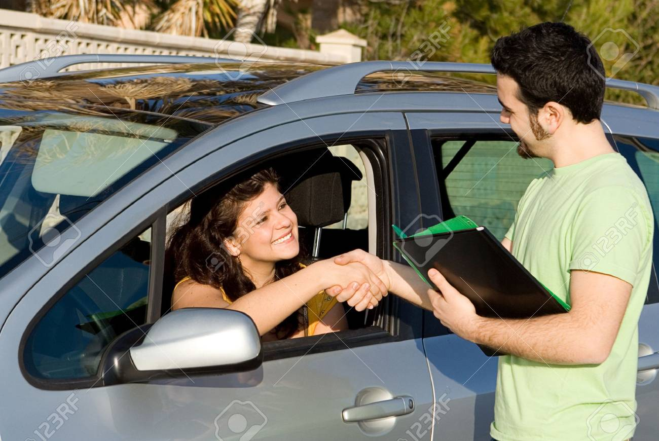 new car, hire or rental Stock Photo - 2634680