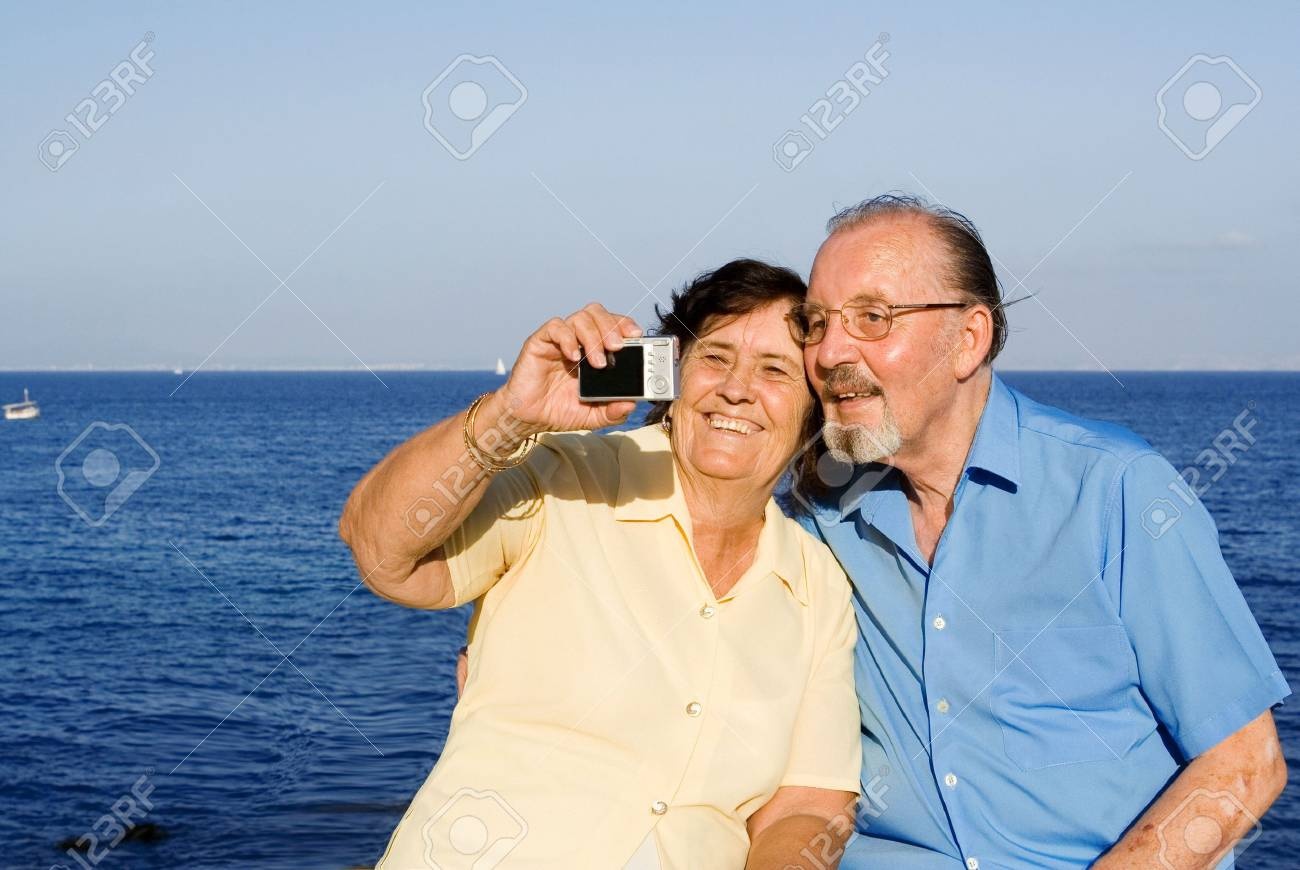 seniors on vacation Stock Photo - 2658933