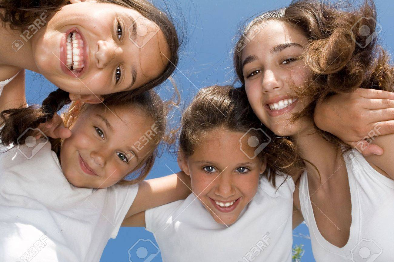 happy smiling faces Stock Photo - 3237880