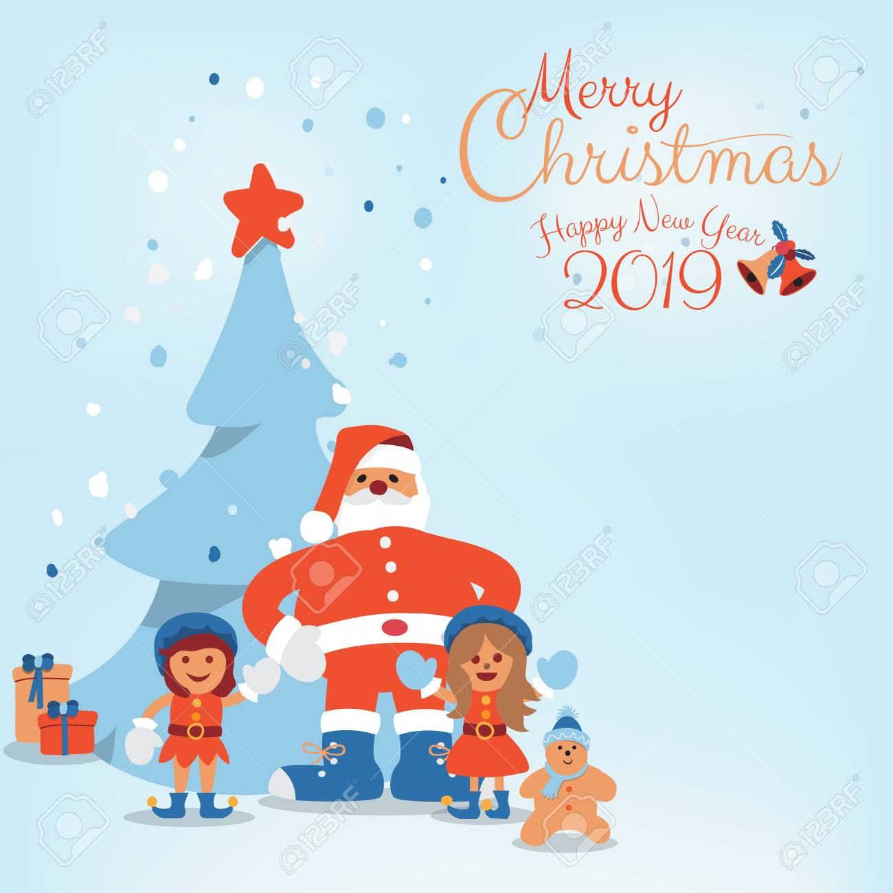 Cute Cartoon Character Of Santa Clause Kids Candy Cookie And Royalty Free Cliparts Vectors And Stock Illustration Image 127340150 Here's a christmas tree tutorial we found at drawing how to but this one includes some packages at the foot of it all. 123rf com