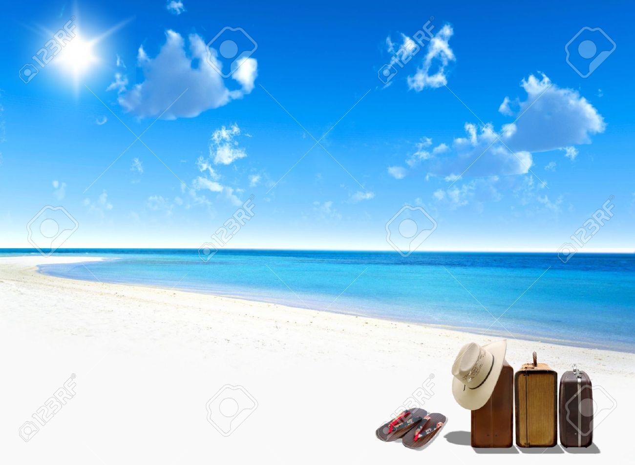 Destination Vacations Stock Photo