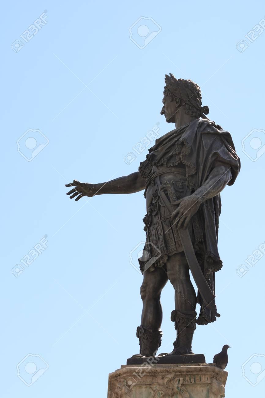 アウグストゥスの泉、造られた 1594年でアウグスブルクの Augustus の ...