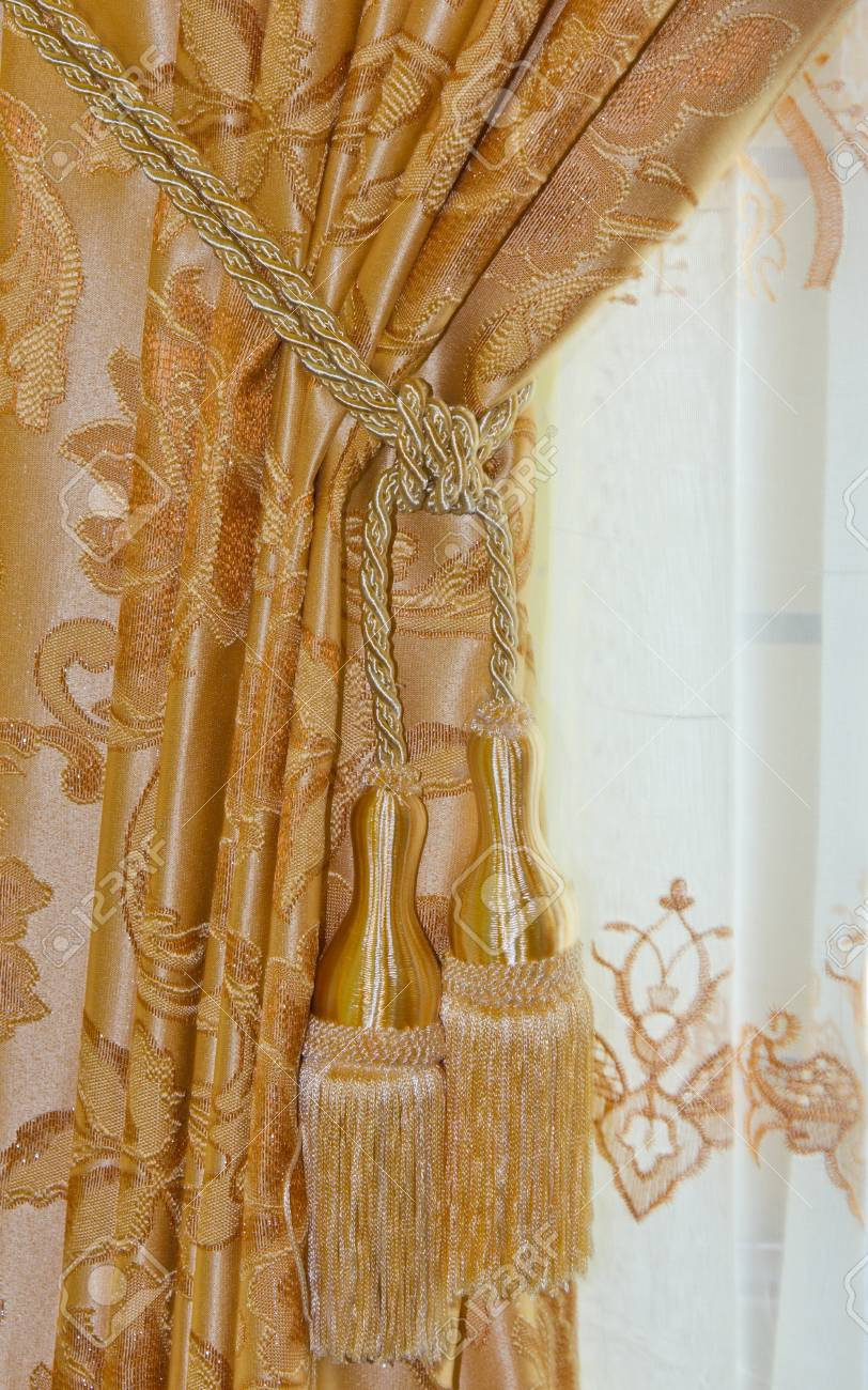Beautiful Curtain Stock Photo - 19311700