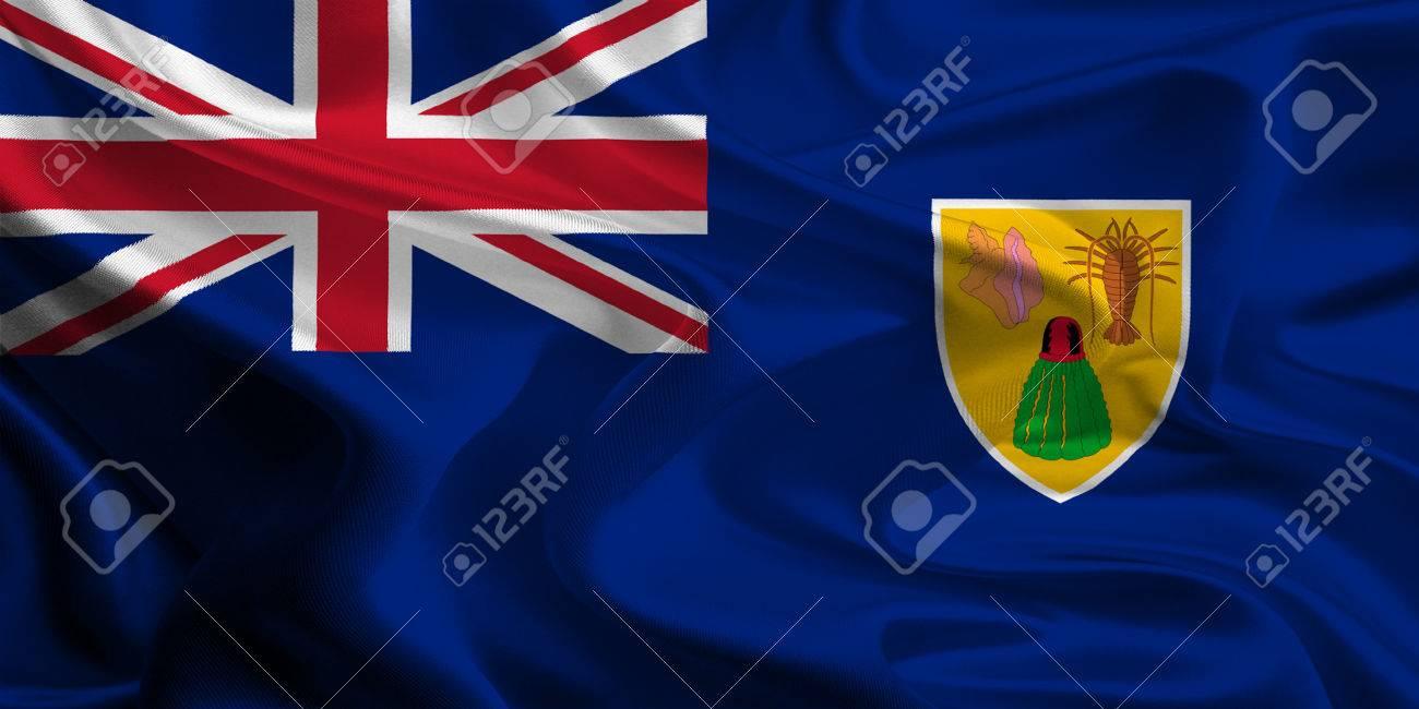 Bandera De Los Territorios De Ultramar Britanicos Islas Turcas Y