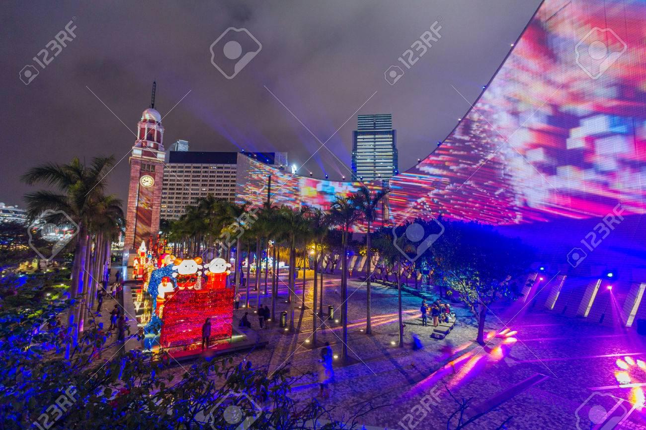 3D Light Show hong kong pulse 3d light show at open piazza, hong kong cultural