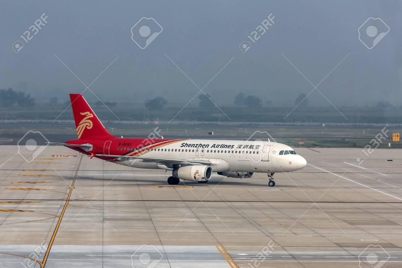 Xian Aeroporto : Xian china sep shenzhen airlines flight in xi an
