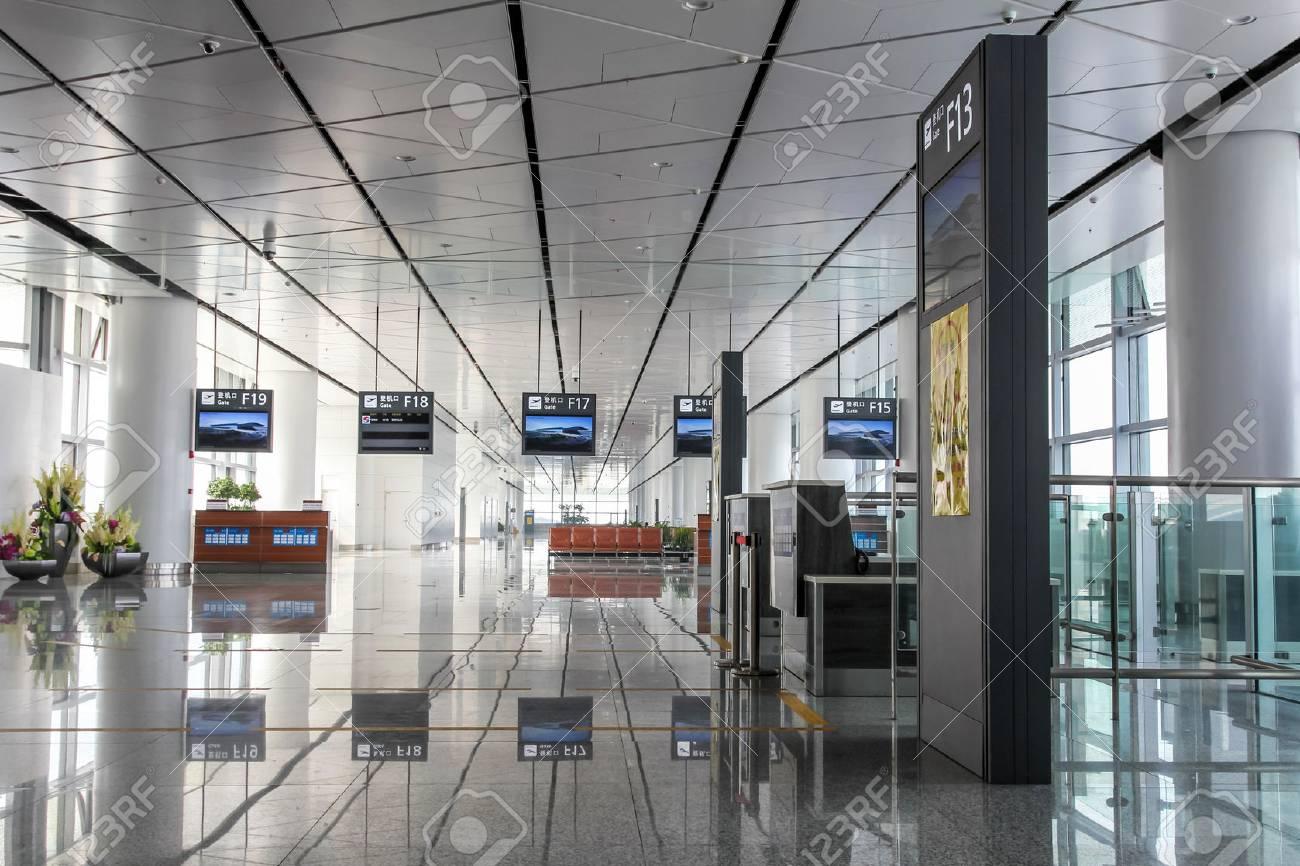 Xian Aeroporto : Xi an cina settembre interno di xi an xianyang