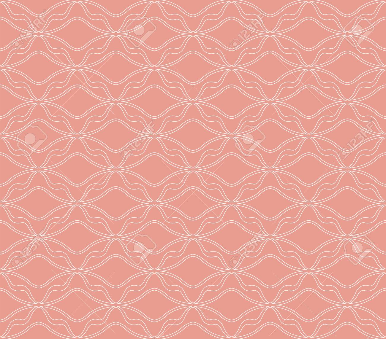 Classic Art Deco Seamless Pattern. Geometric Stylish Texture. Abstract Retro Vector Texture. - 129899457